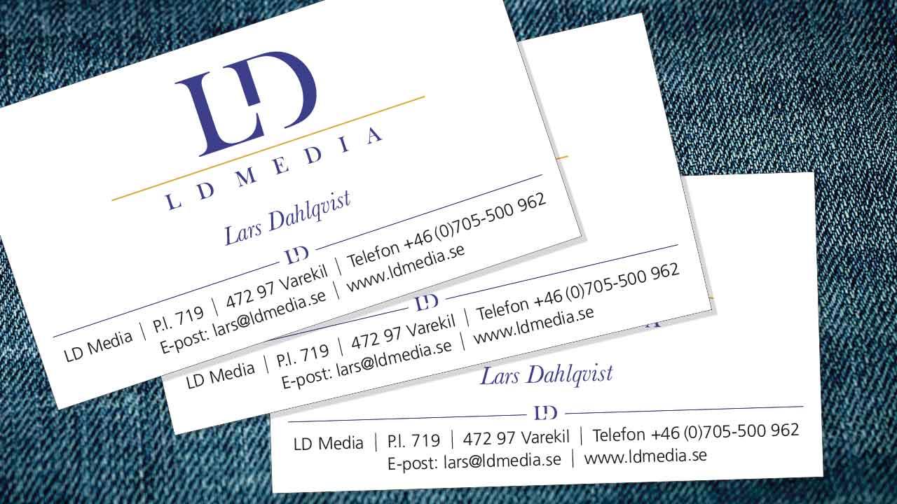 Logotyp + visitkort