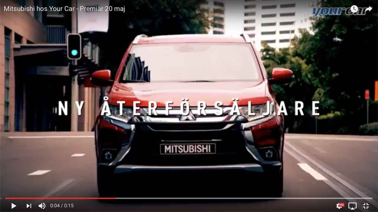 Webbfilm för Your Car