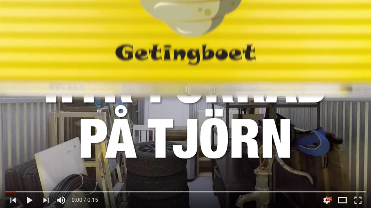 Webbfilm för Getingboet
